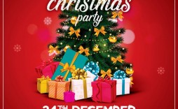 008 Rare Free Holiday Flyer Template Image  Printable Christma Word Sale Party