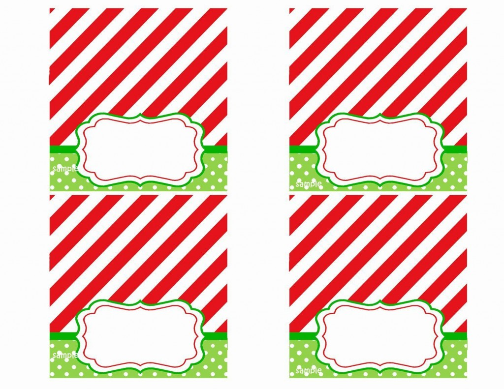 008 Rare Free Printable Christma Tent Card Template Design Large