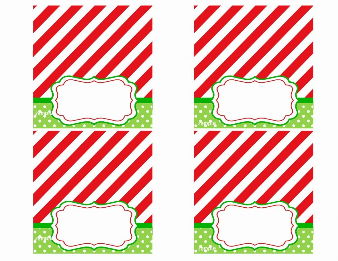 008 Rare Free Printable Christma Tent Card Template Design 1400