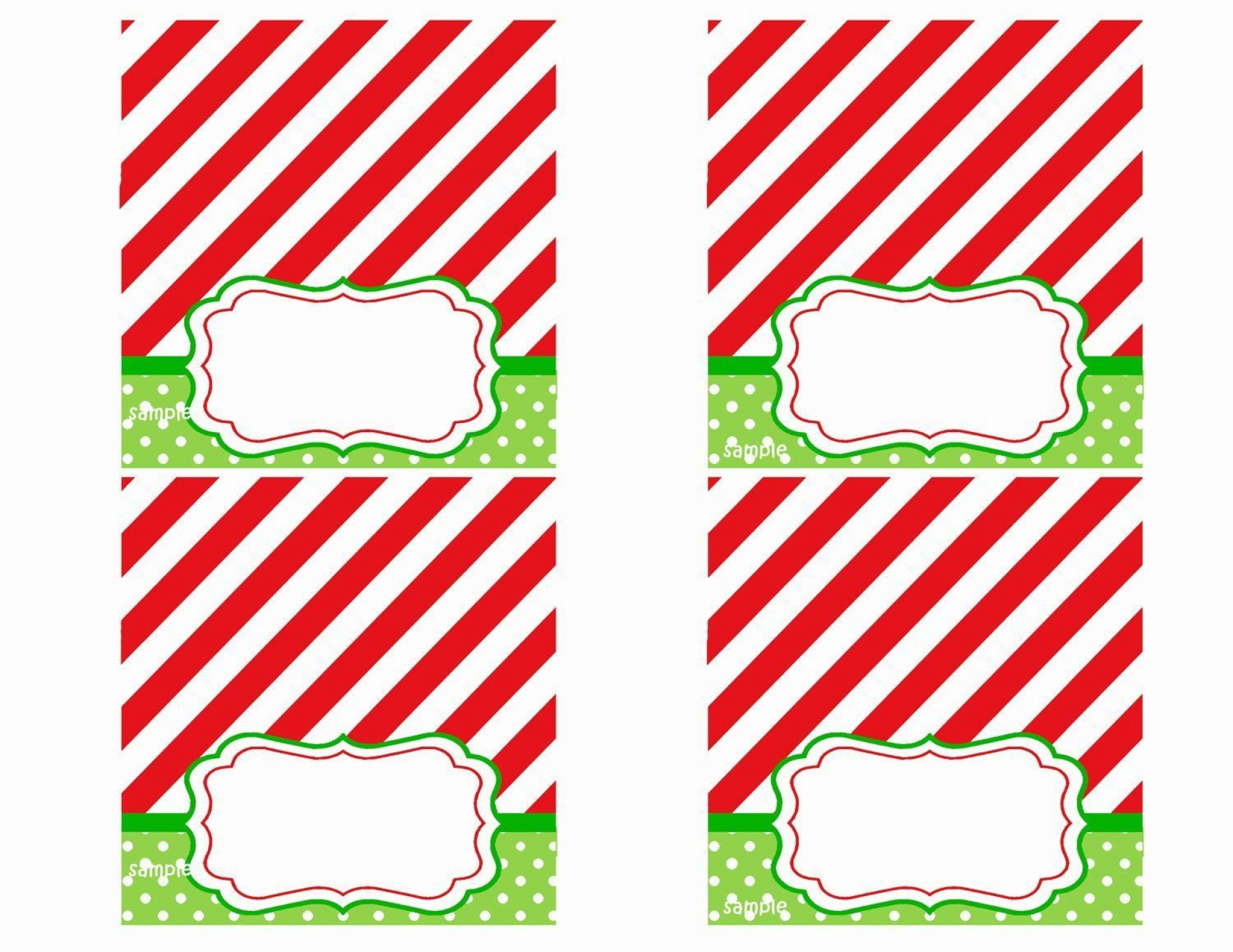 008 Rare Free Printable Christma Tent Card Template Design 1920
