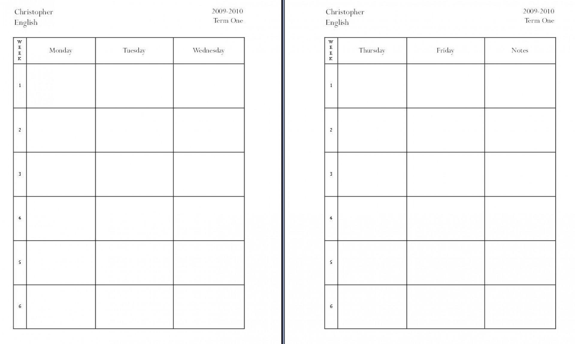 008 Rare Homeschool Lesson Plan Template Idea  Teacher Planner Free1920