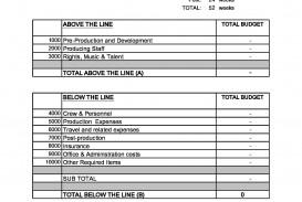008 Rare Line Item Budget Sample Inspiration  Church For Grant Proposal Format