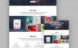 008 Rare Responsive Landing Page Template Idea  Free Html With Flexbox Html5