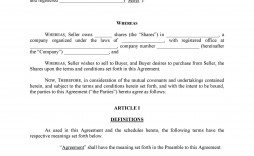 008 Rare Sale Agreement Template Free Concept  Share Australia Word Busines Download South Africa