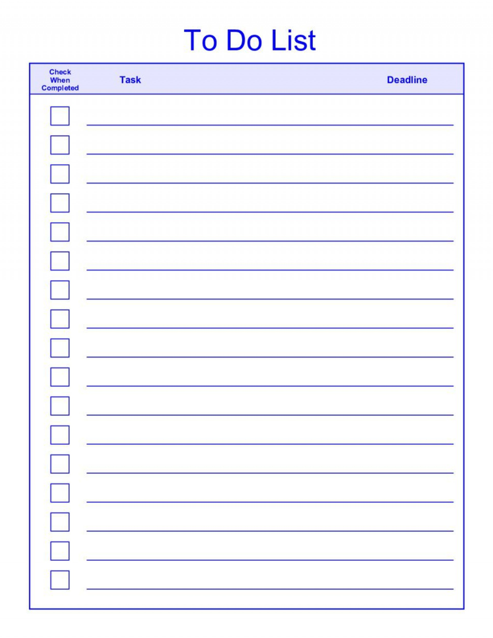 008 Rare To Do List Template Word Example  For Microsoft Free1920