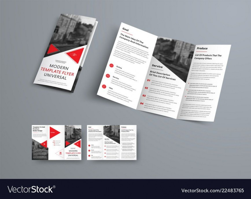 008 Remarkable 3 Fold Brochure Template Inspiration  For Free868