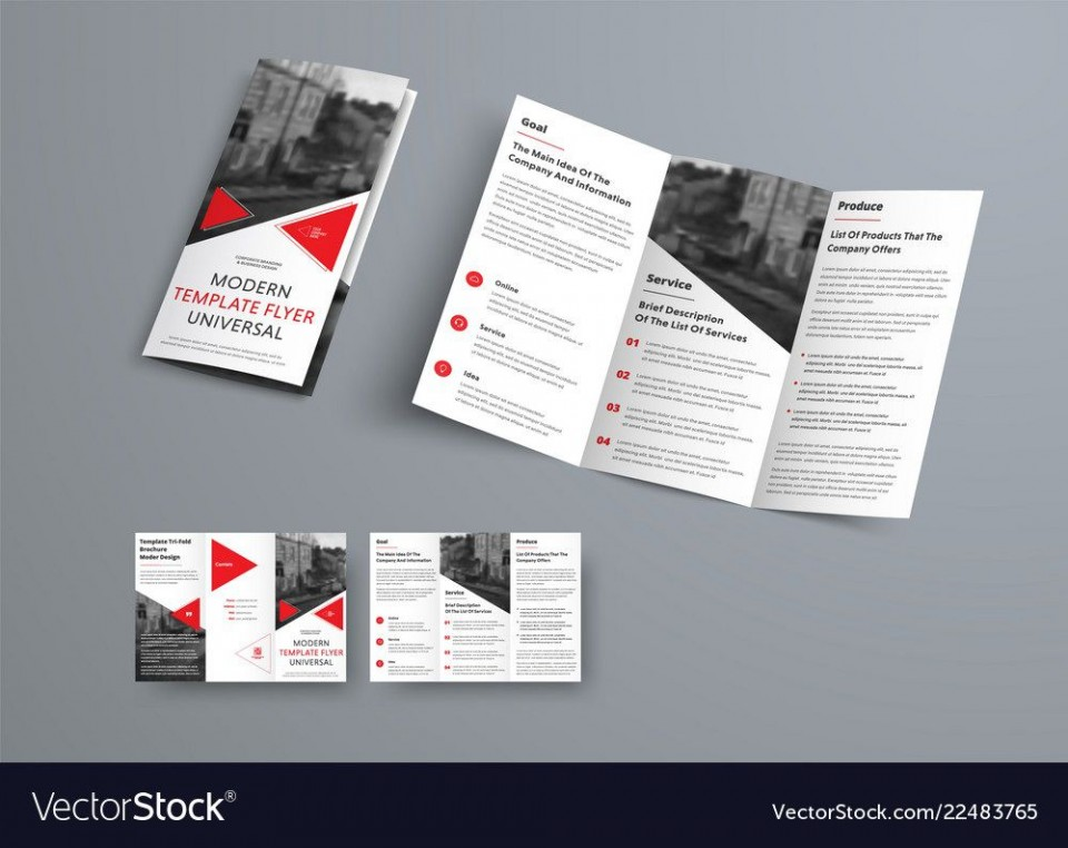 008 Remarkable 3 Fold Brochure Template Inspiration  For Free960