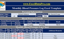 008 Remarkable Blood Pressure Log Template High Definition  Printable Free Sheet Chart