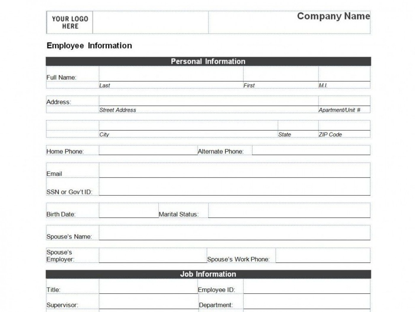 008 Remarkable Client Information Form Template Excel Design 1400