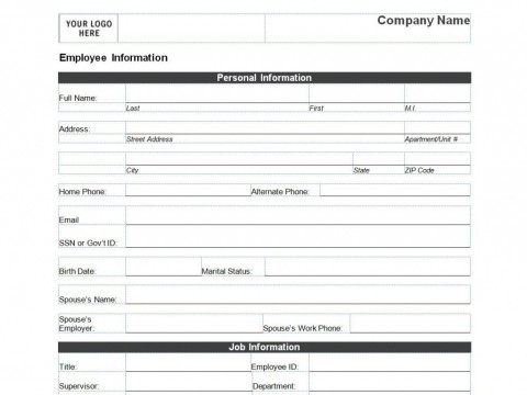 008 Remarkable Client Information Form Template Excel Design 480