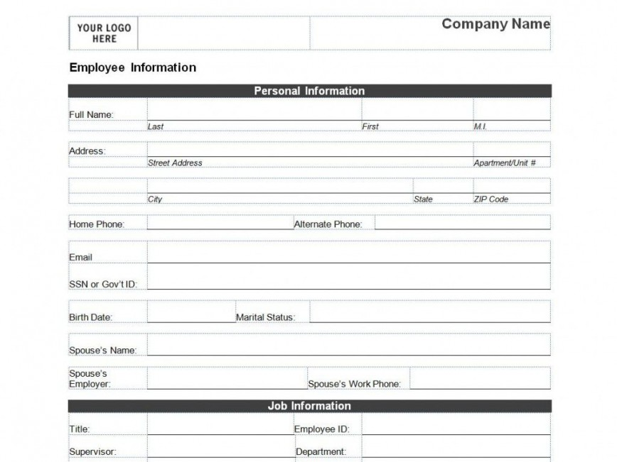 008 Remarkable Client Information Form Template Excel Design 868