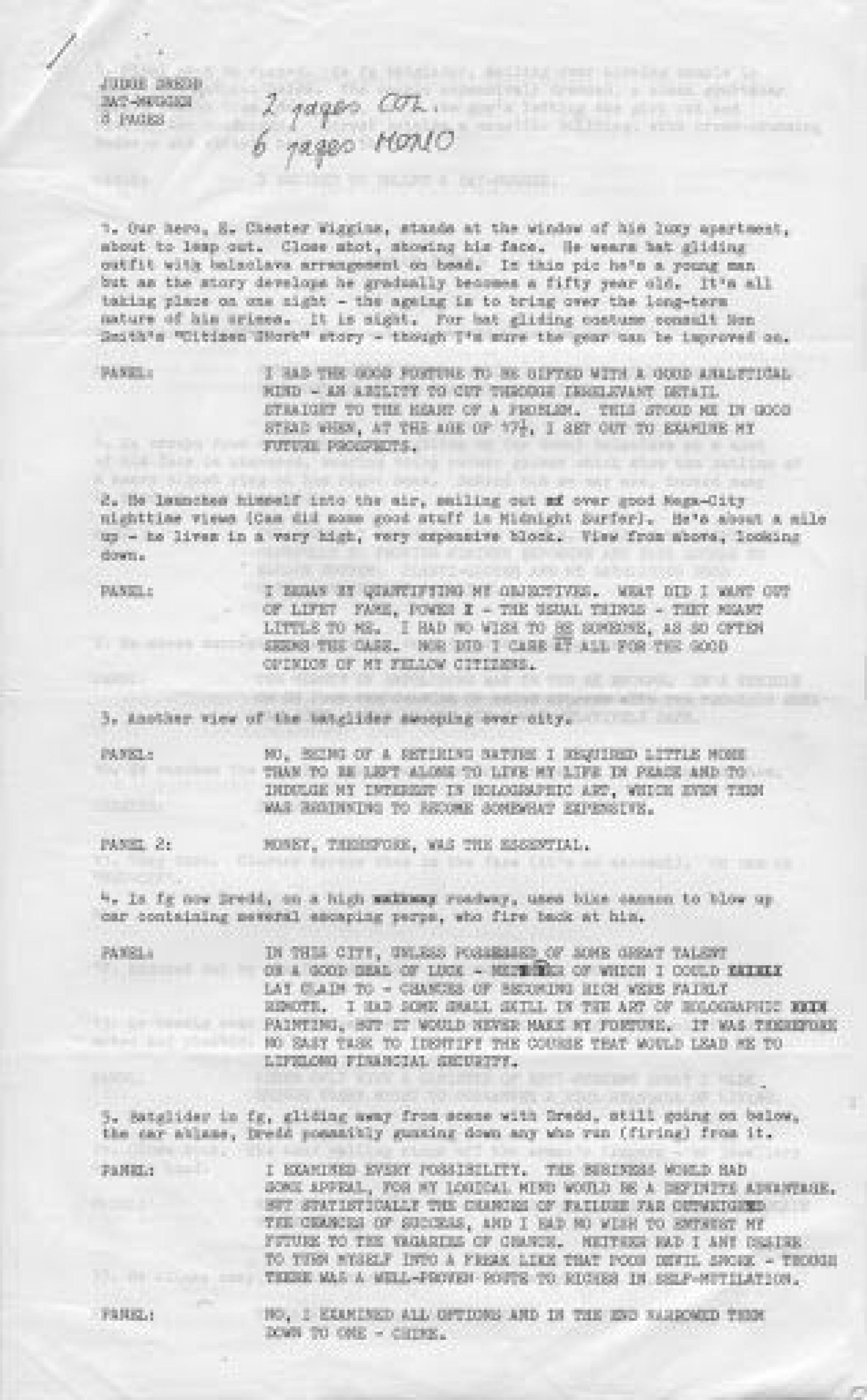 008 Remarkable Comic Book Script Sample Highest Clarity  Marvel Celtx1920