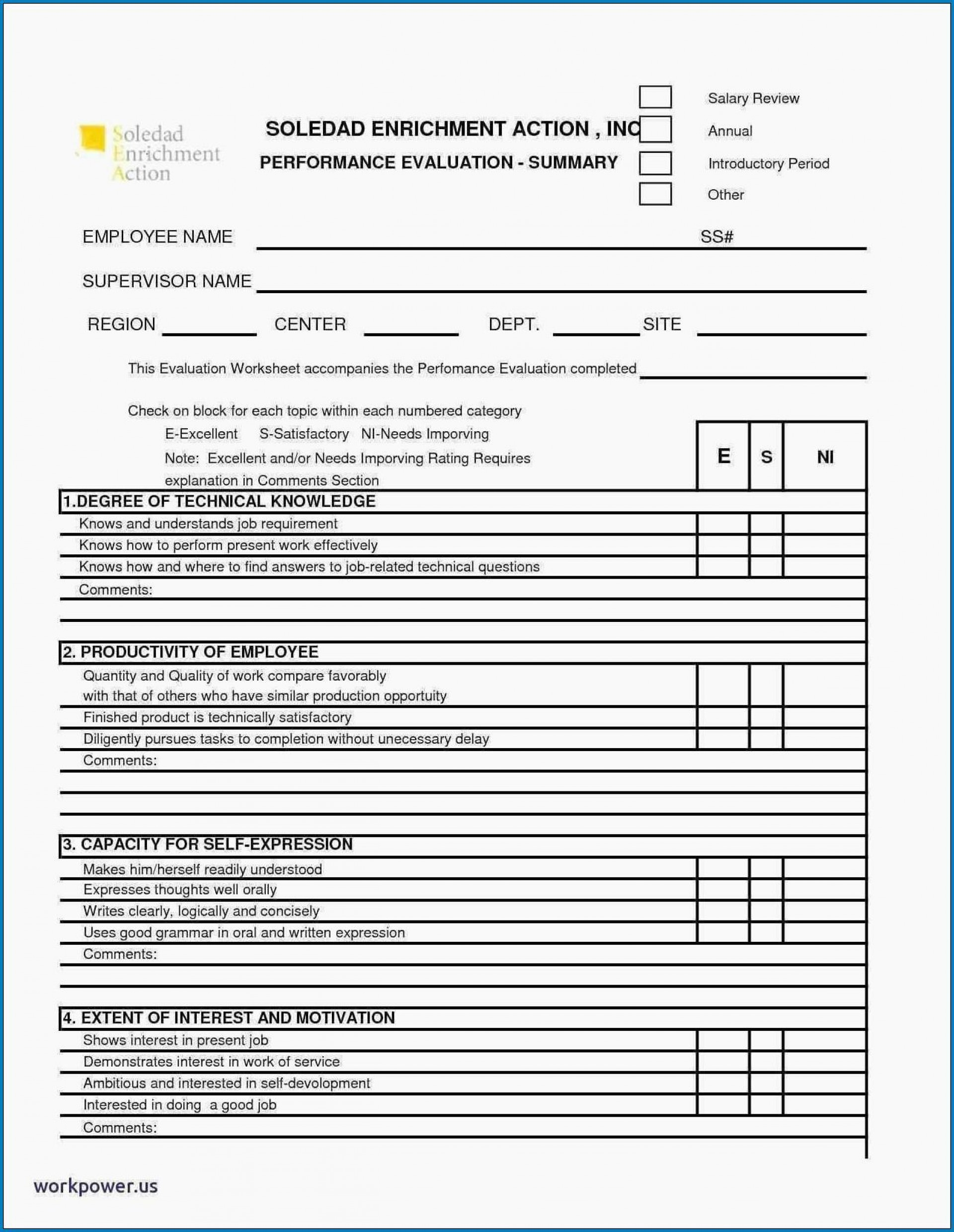 008 Remarkable Employee Performance Review Template Word Image  Microsoft Document1920