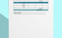 008 Remarkable Free Construction Estimate Template For Mac Picture