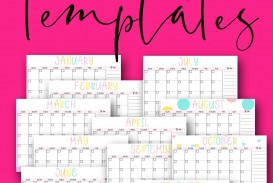 008 Remarkable Free Printable Blank Monthly Calendar Template Picture