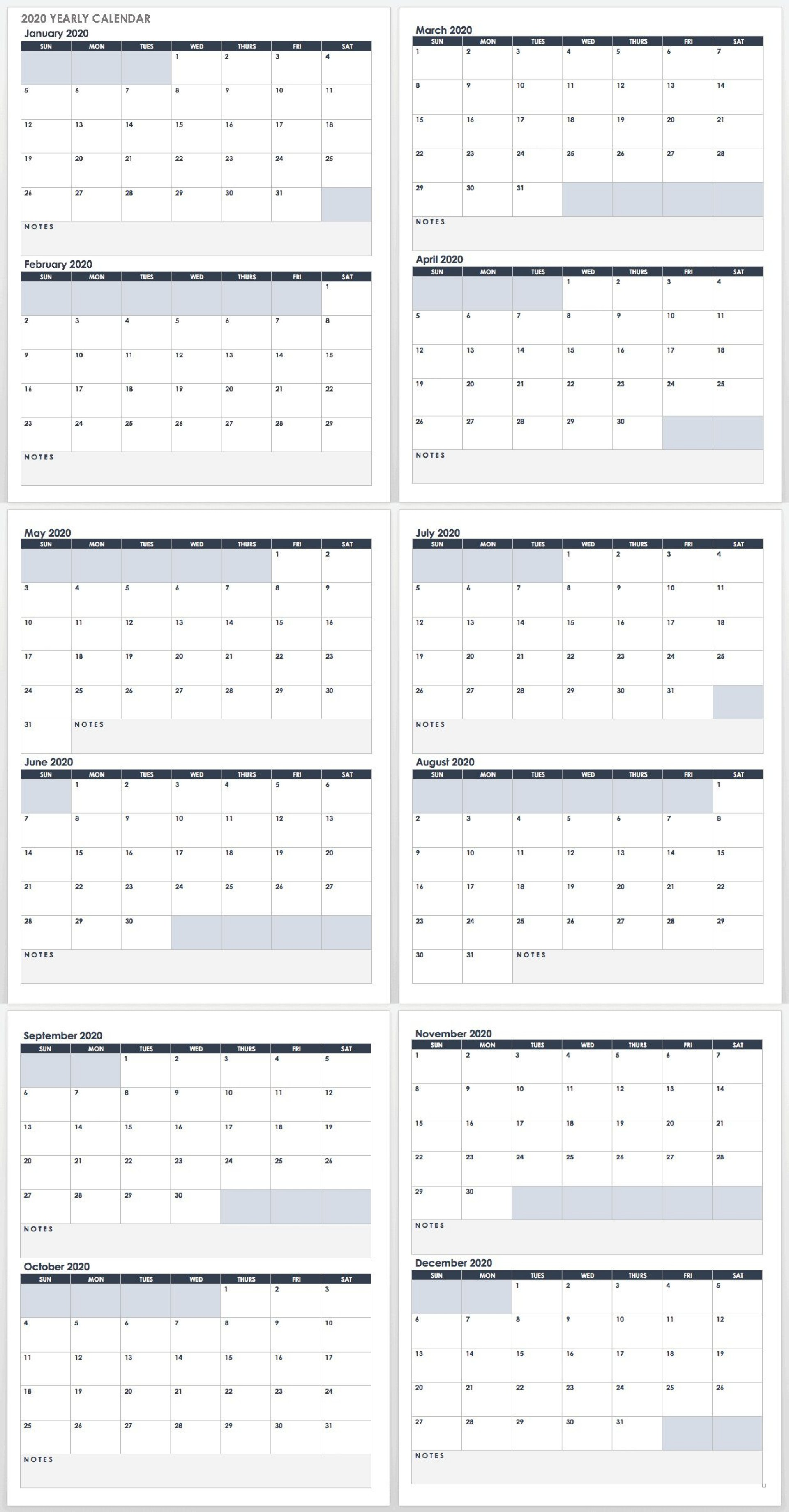 008 Remarkable Google Sheet Calendar Template 2020 Idea  Monthly And 2021 2020-211920