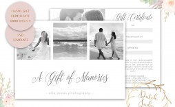 008 Remarkable Photography Session Gift Certificate Template Highest Quality  Photo Free