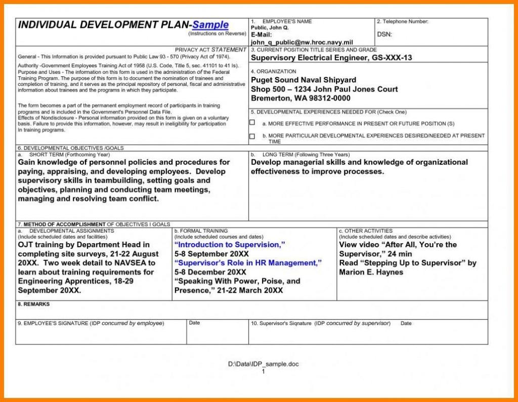 008 Remarkable Professional Development Plan For Teacher Template Doc Idea Large