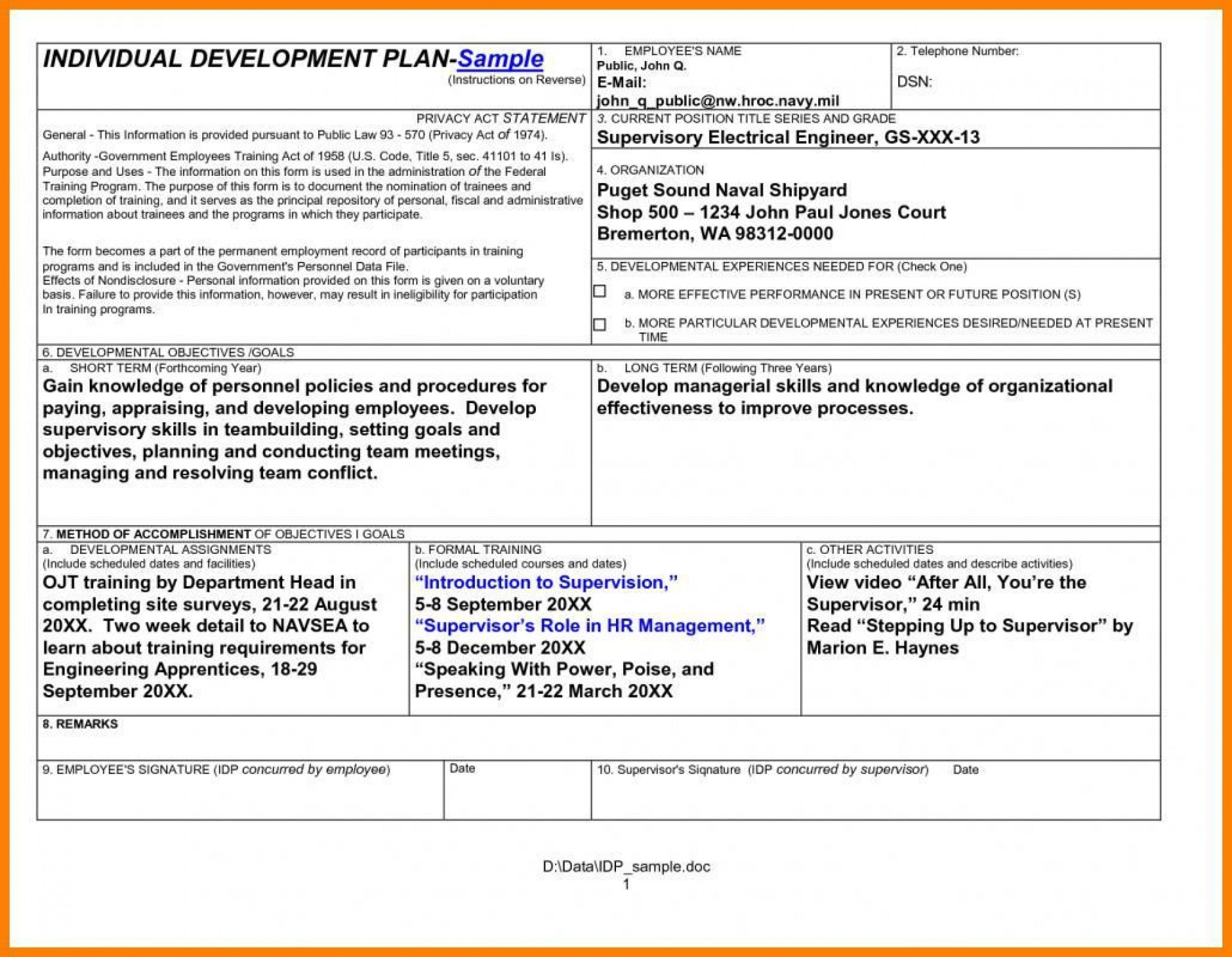 008 Remarkable Professional Development Plan For Teacher Template Doc Idea 1920