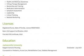 008 Remarkable Rn Graduate Resume Template High Resolution  New Grad Nurse