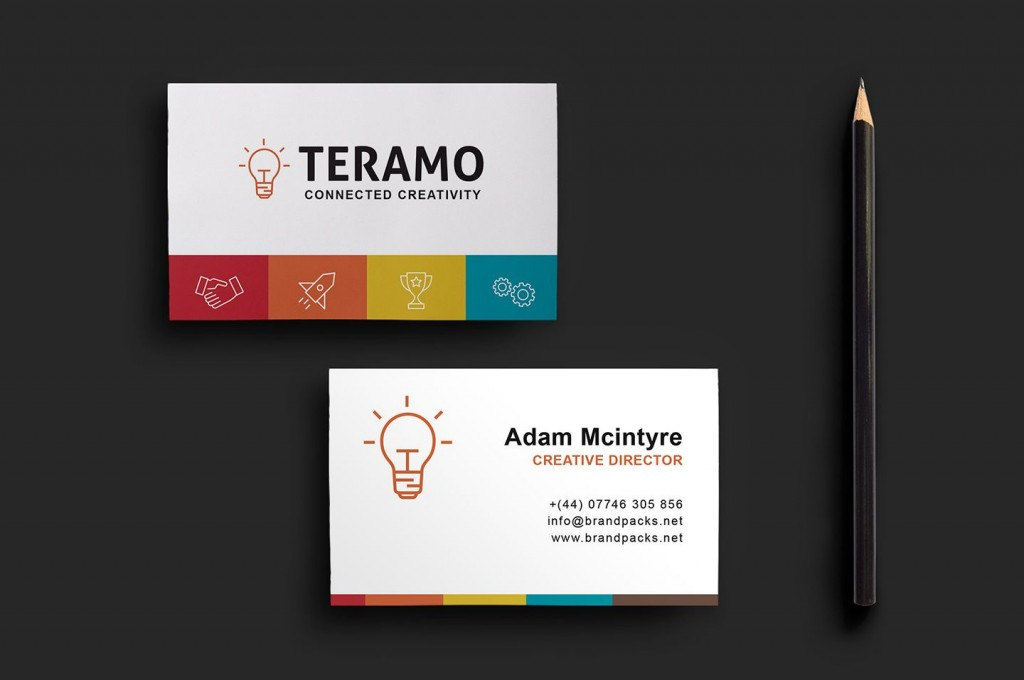 008 Remarkable Staple Busines Card Template Psd High Definition Large