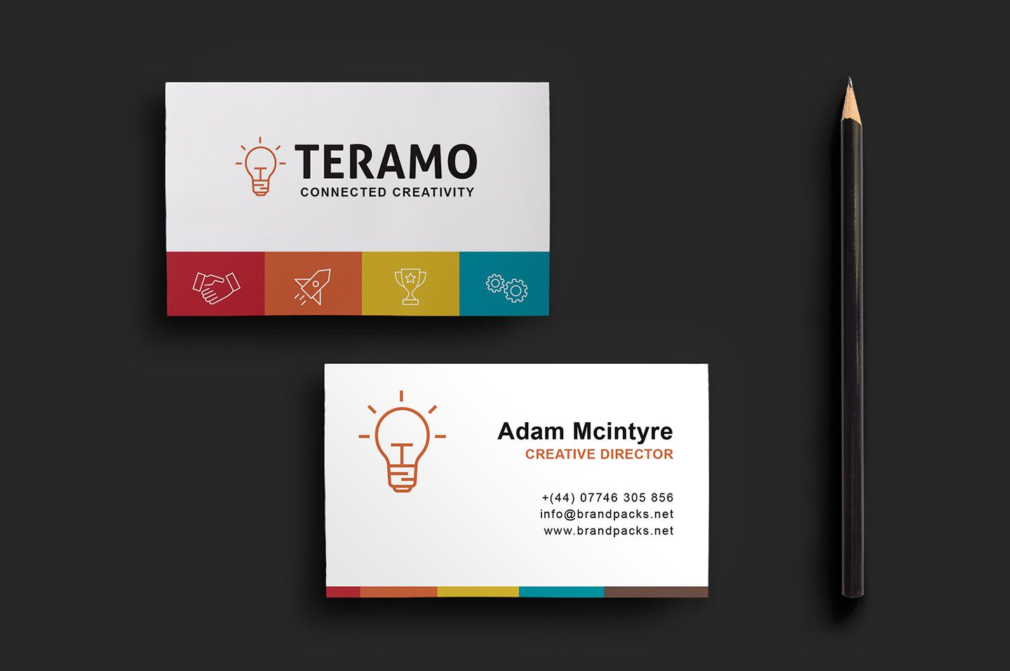 008 Remarkable Staple Busines Card Template Psd High Definition Full