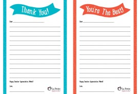 008 Remarkable Thank You Note Template Free Printable Idea