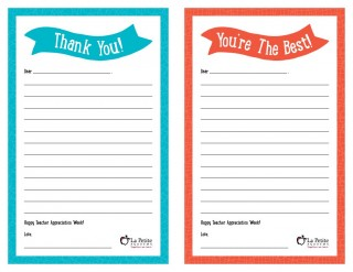 008 Remarkable Thank You Note Template Free Printable Idea 320