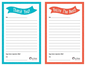 008 Remarkable Thank You Note Template Free Printable Idea 360
