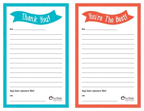 008 Remarkable Thank You Note Template Free Printable Idea 480