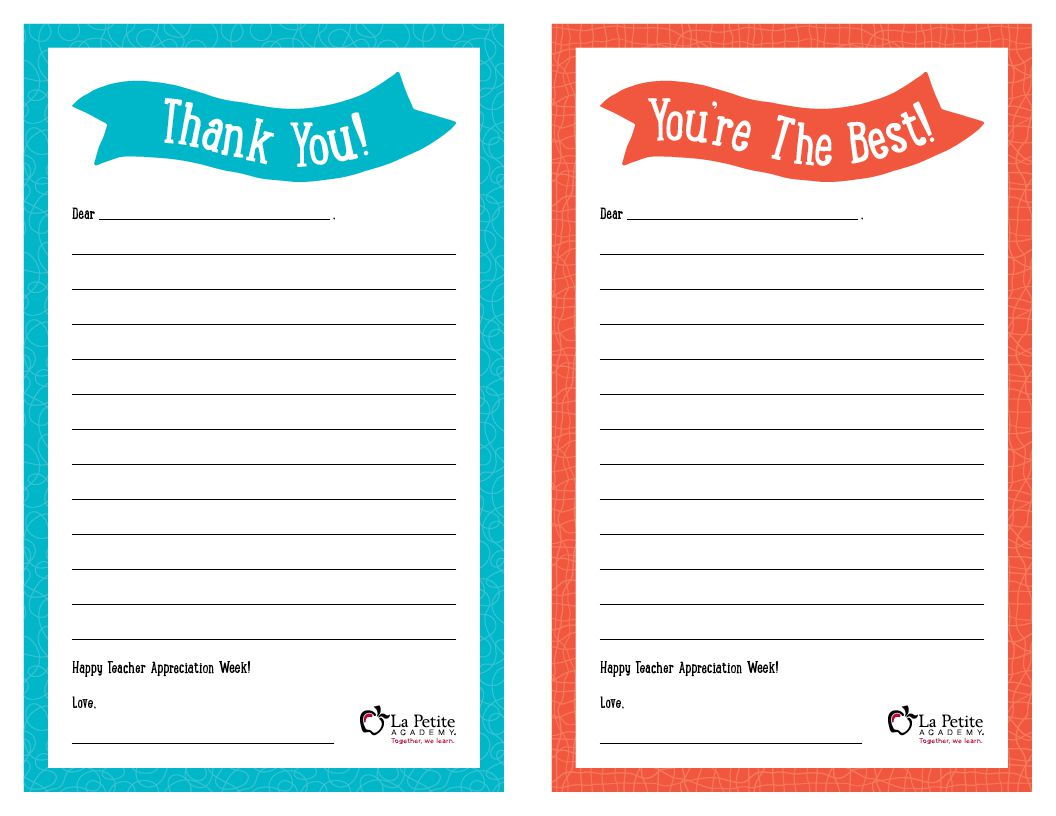 008 Remarkable Thank You Note Template Free Printable Idea Full