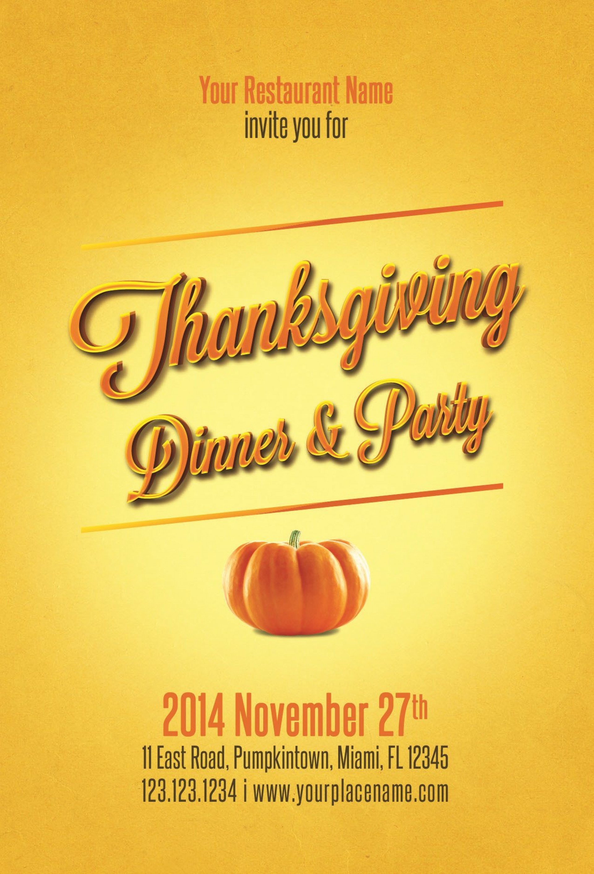008 Remarkable Thanksgiving Flyer Template Free High Definition  Food Drive Party1920