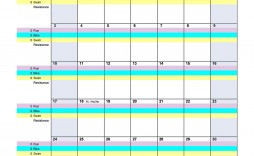 008 Remarkable Workout Schedule Template Excel Highest Quality  Training Plan Download Weekly Planner