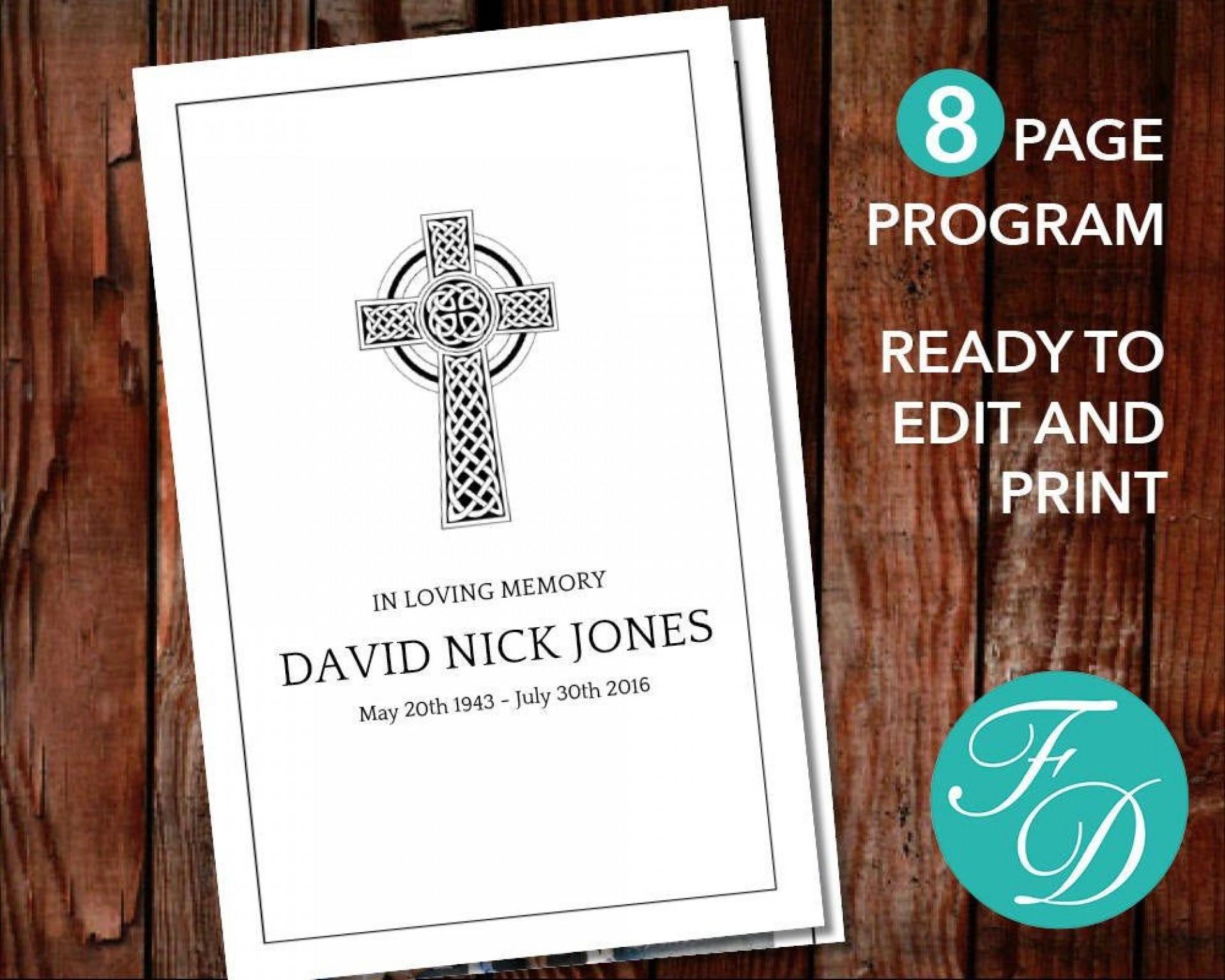 008 Sensational Catholic Funeral Program Template Highest Clarity  Mas Layout Free1920