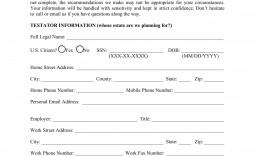 008 Sensational Client Information Form Template Free Download Design