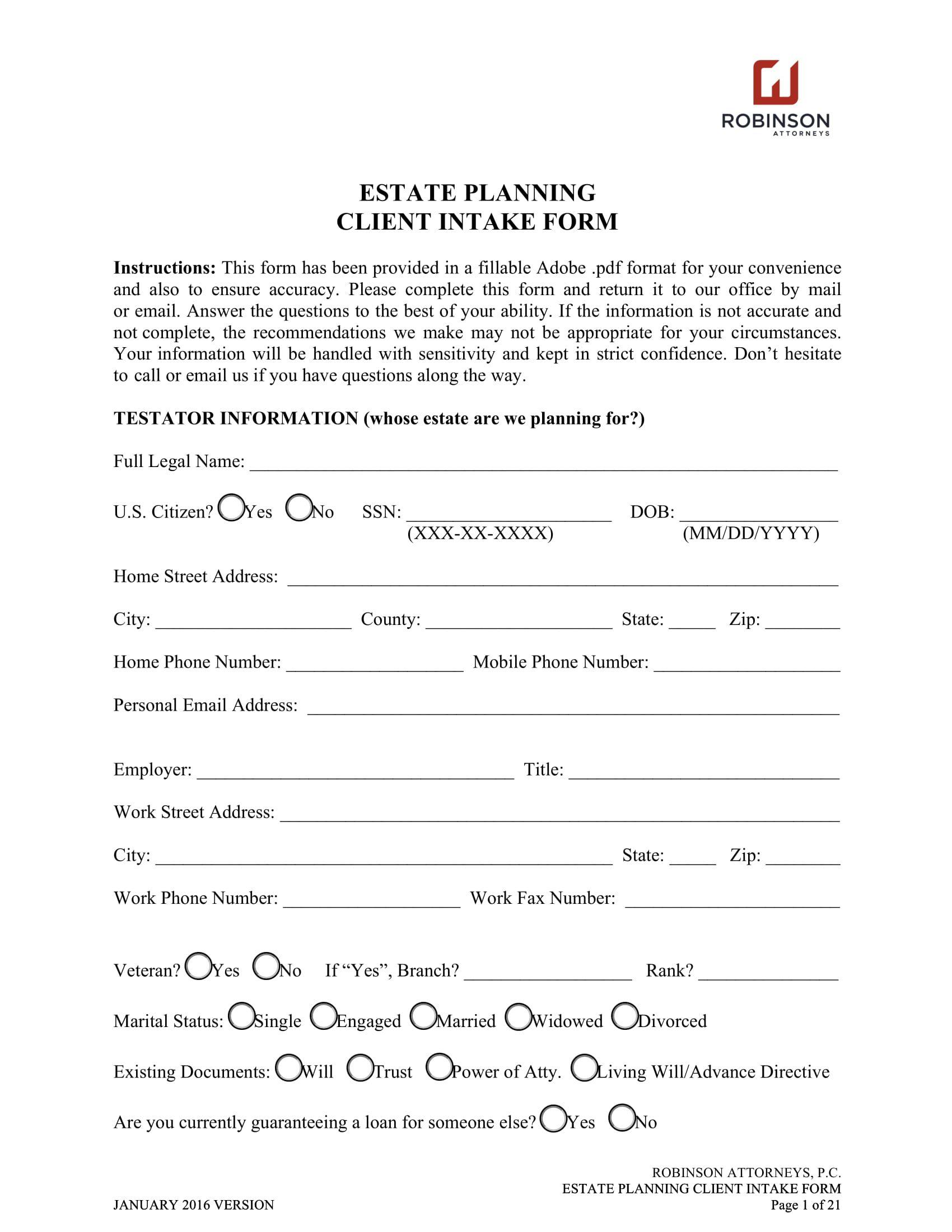 008 Sensational Client Information Form Template Free Download Design Full