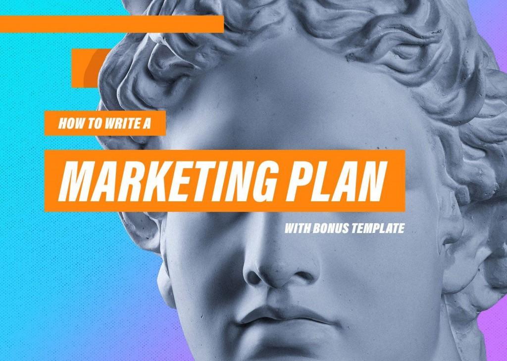 008 Sensational Digital Marketing Plan Template Download Concept Large