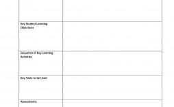 008 Sensational Fillable Lesson Plan Template Free Image  Printable Editable