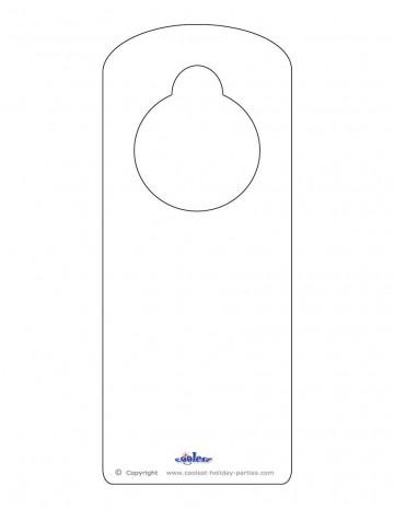 008 Sensational Free Download Door Hanger Template Picture 360