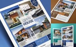 008 Sensational Free Open House Flyer Template Inspiration  Microsoft Word