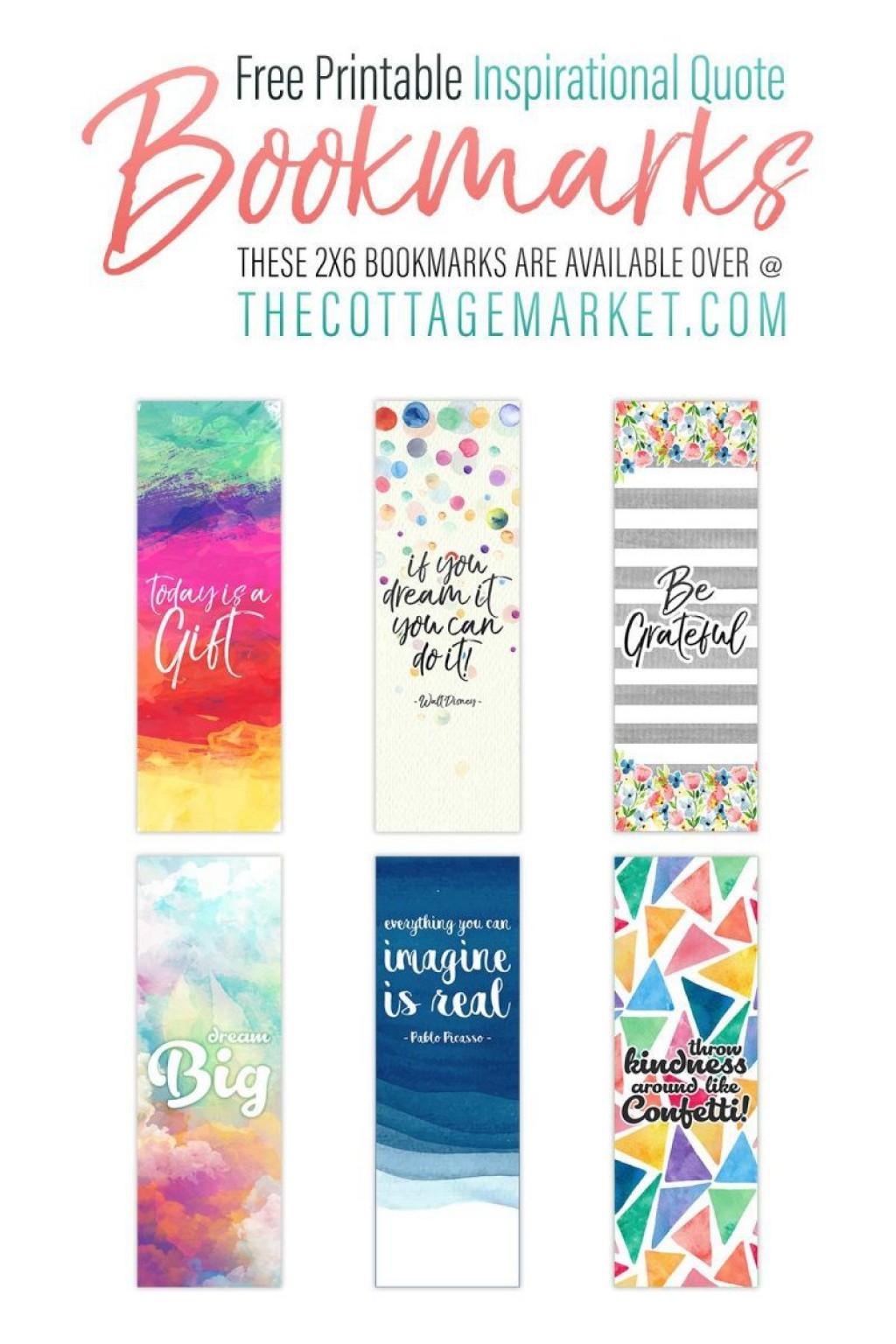 008 Sensational Free Printable Bookmark Template Inspiration  Templates Download Photo For TeacherLarge