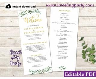 008 Sensational Free Wedding Order Of Service Template Word Design  Microsoft320