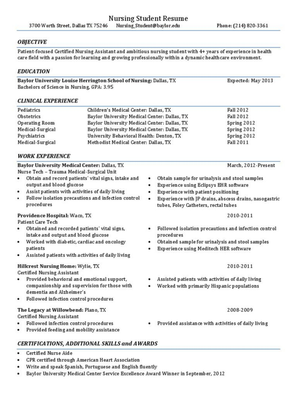 008 Sensational Graduate Nurse Resume Template Picture  Student Free New Practitioner GradLarge