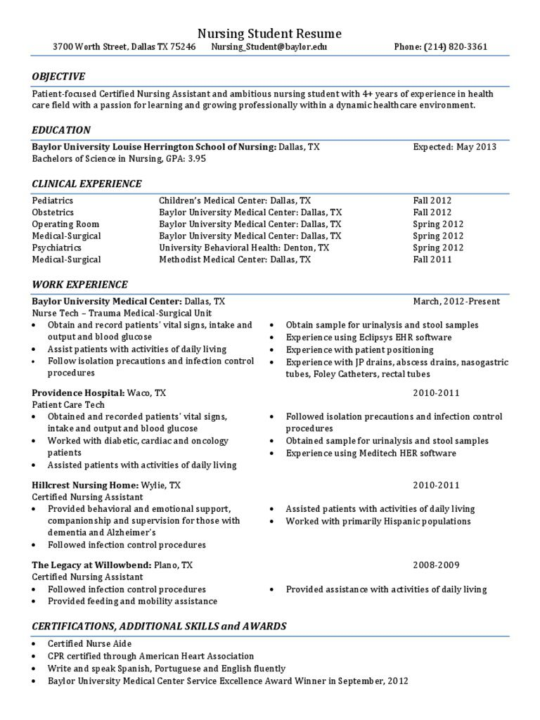 008 Sensational Graduate Nurse Resume Template Picture  Student Free New Practitioner GradFull