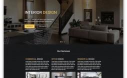 008 Sensational Interior Design Html Template Free Download Image