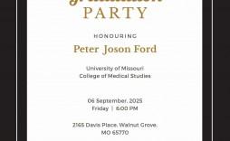 008 Sensational Microsoft Word Graduation Invitation Template Idea  Templates Party