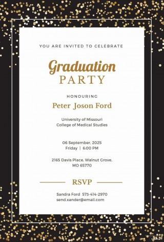 008 Sensational Microsoft Word Graduation Invitation Template Idea  Party320