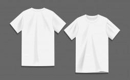 008 Sensational Plain T Shirt Template Idea  Blank Psd Free