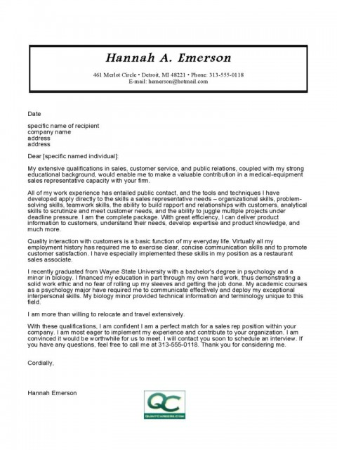 008 Sensational Sale Cover Letter Template Design  Account Manager Word Rep480