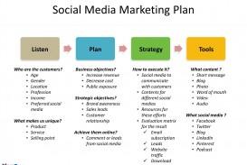 008 Sensational Social Media Plan Template Image  Doc Download Marketing Excel
